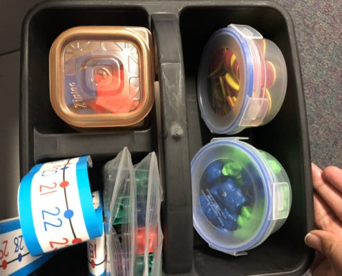 math manipulatives organization